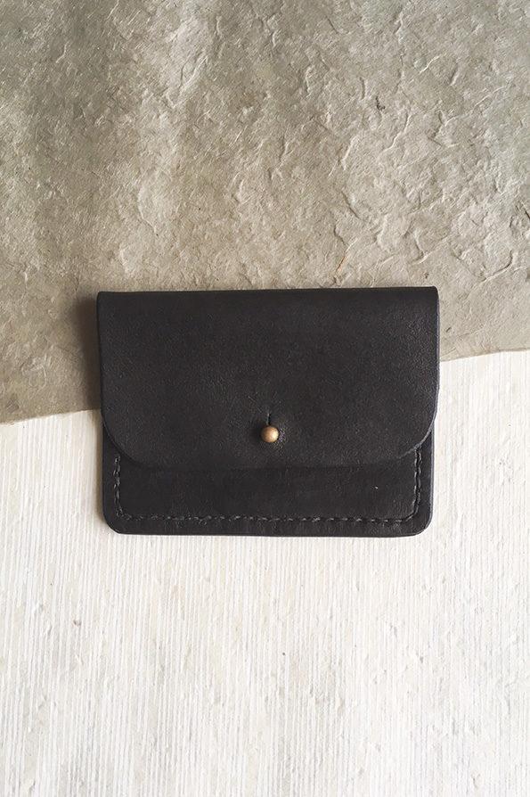 Leather Purse | Black