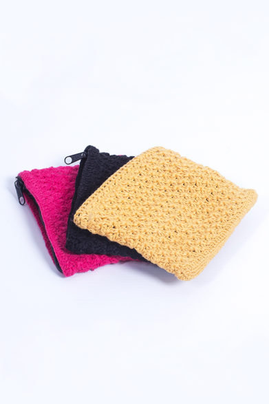 Coin Purse Crochet | Purses | Wallet Coin Card Holder | Sustainable Fashion