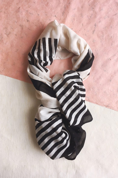 Scarves | Silk Cotton Scarf | Block Print | Sustainable Fashion