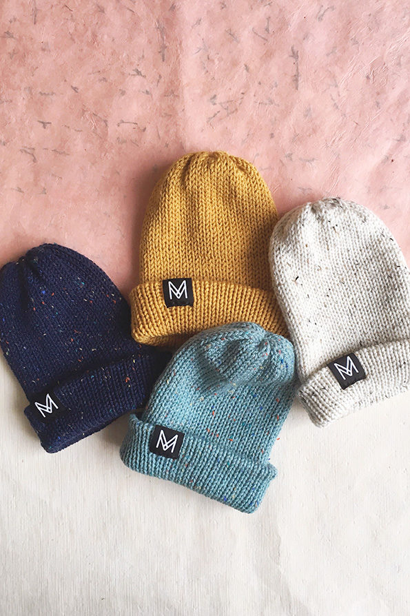 Knitted Beanie | Hat | Handmade | Sustainable Fashion