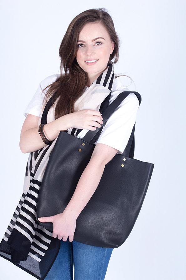Tote Bag | Leather | Black