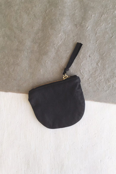 Black Leather Purse | Purses | Wallet Coin Card Holder | Sustainable Fashion