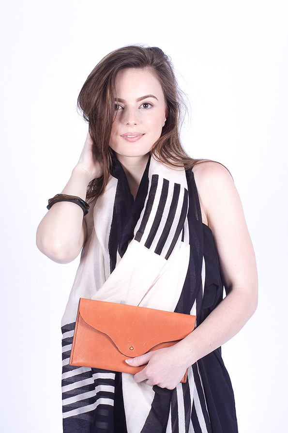 Leather Clutch Bags | Tan Clutch Bag | Sustainable Fashion