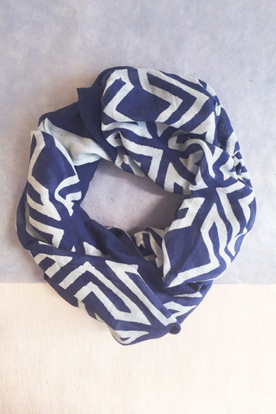 Scarves | Silk Cotton Scarf | Block Print | Sustainable Fashion