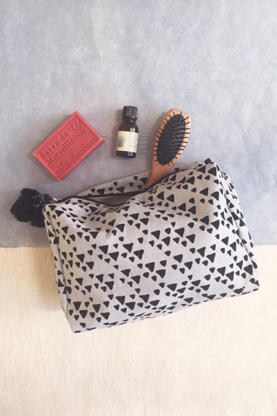 Toiletry Bag | Block Print | Sustainable Fashion