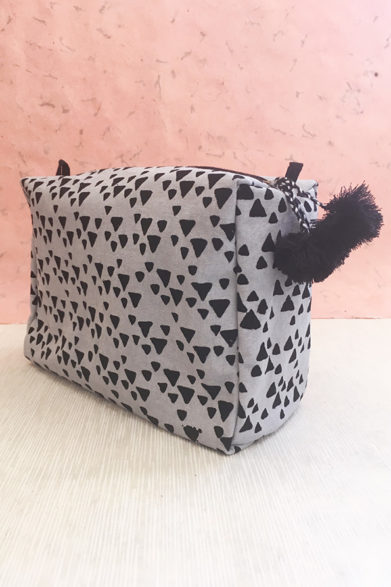Toiletry Bag | Block Print | Sustainable Fashion
